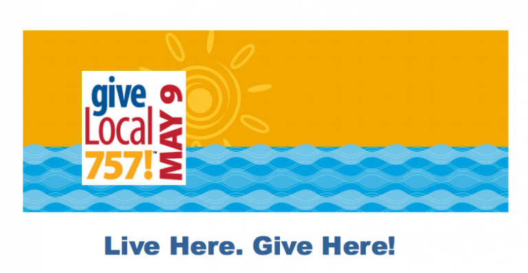 Give Local 757 - Live Here. Give Here!