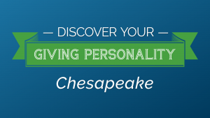 Discover Your Giving Personality Chesapeake