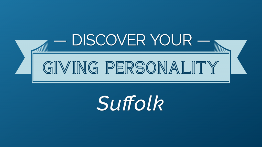 Discover Your Giving Personality Suffolk